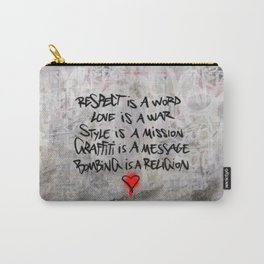 The message Carry-All Pouch