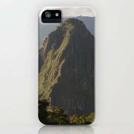 Huayna Picchu iPhone Case