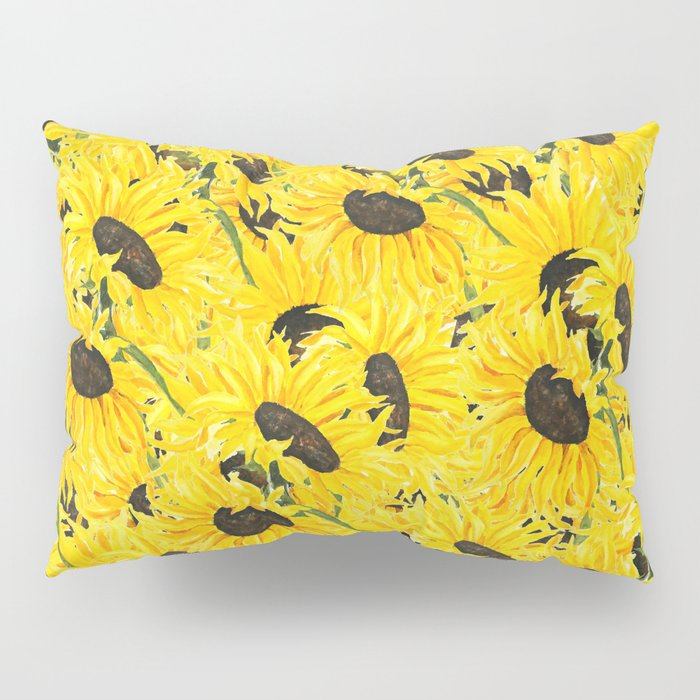 sunflower pattern 2018 1 Pillow Sham
