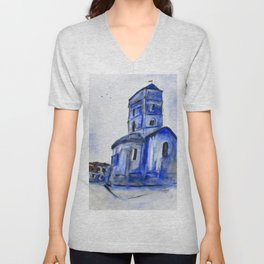 Once A Church Unisex V-Neck