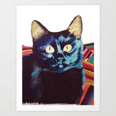 Buffy the Cat Art Print