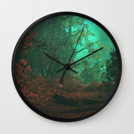 Ghostlight Woods Wall Clock