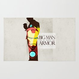 Suit of Armor : Iron Man Rug