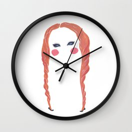 Magnetic Eyes Wall Clock
