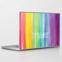 dreamer Laptop & iPad Skins featuring Dreamer by micklyn