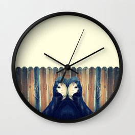 Ghost In You Wall Clock