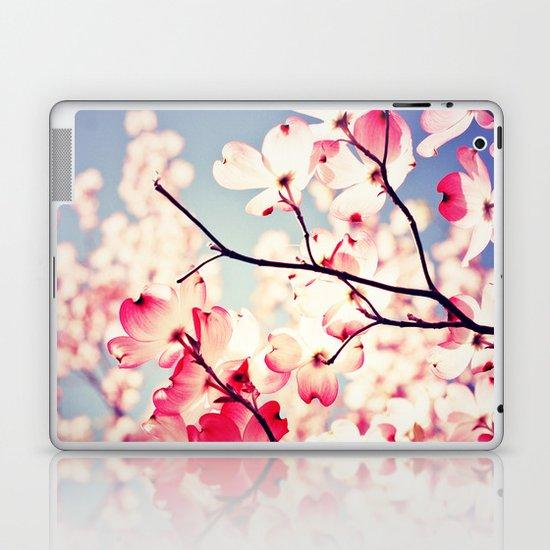 Dialogue With the Sky - Blue tones Laptop & iPad Skin