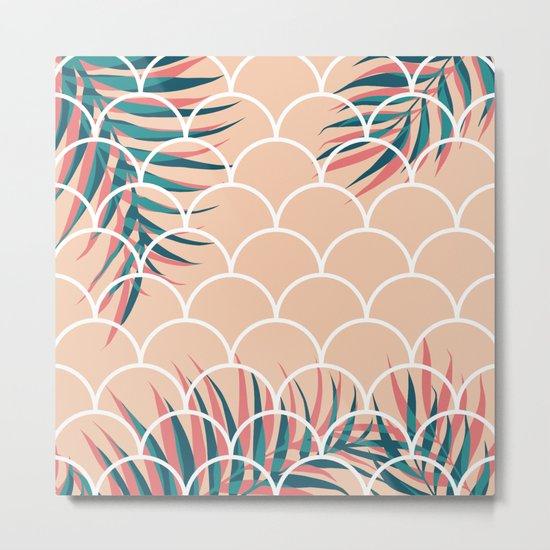 Tropical Window #society6 #decor #buyart Metal Print