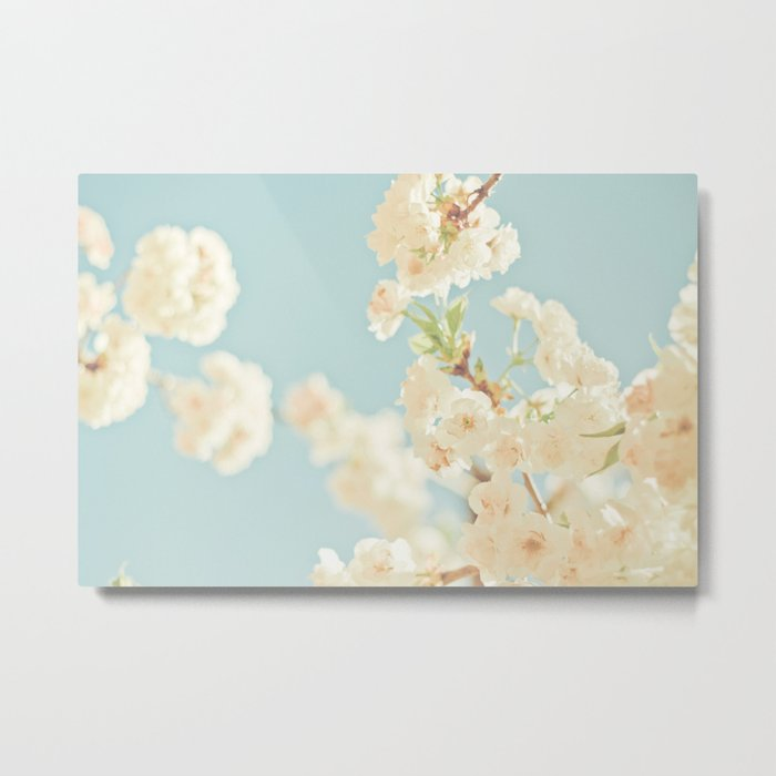 Cotton Candy In The Sky Metal Print
