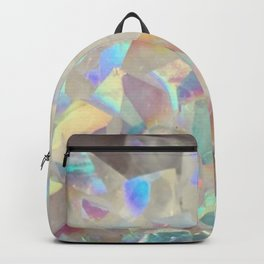 Iridescent Aura Crystals Backpack