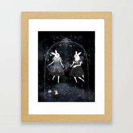 weird sisters Framed Art Print