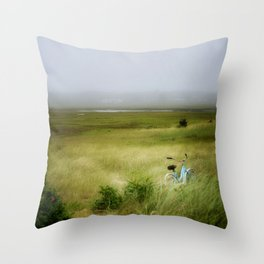 lazy summer day... Throw Pillow