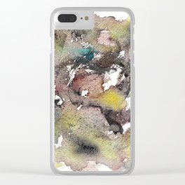 Green ing Clear iPhone Case