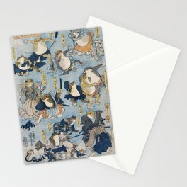 The Samurais Toads Stationery Cards