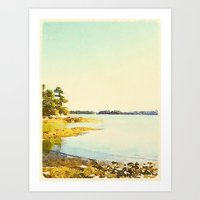 Wolfe's Neck State Park, ME Art Print