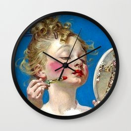 Lippy Wall Clock