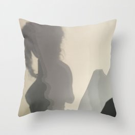 She Mountains Throw Pillow
