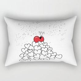 The Journey of Love Rectangular Pillow