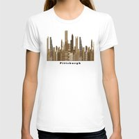 pittsburgh T-shirts featuring Pittsburgh skyline vintage by bri.buckley