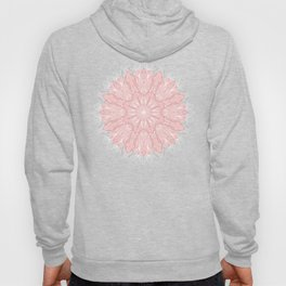 MANDALA IN GREY AND PINK Hoody