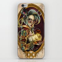 steampunk iPhone & iPod Skins featuring Steampunk by Mili Koey