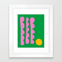 Spring Whimsy Framed Art Print