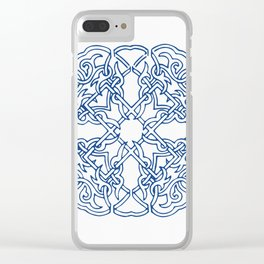 Chinese knot Pattern Clear iPhone Case