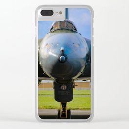 nose of the vulcan Clear iPhone Case