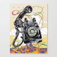 technology Canvas Prints featuring Ancient Technology by David Chestnutt