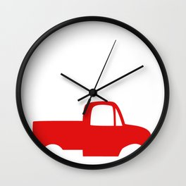 Cowboy Up or Go Sit in the Truck Wall Clock