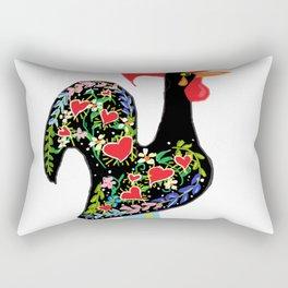 Portuguese Rooster art Rectangular Pillow