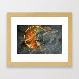 Searing Song Framed Art Print