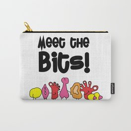 Meet The Bits Carry-All Pouch
