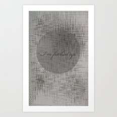 Fucked up Art Print