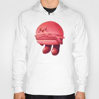 kirby Hoodies featuring Kirby Patty by Vaughn Pinpin