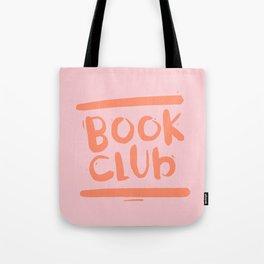 Book Club - Peach Tote Bag