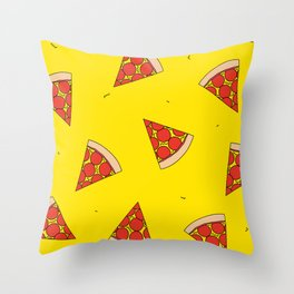 In Pizza We Crust Throw Pillow