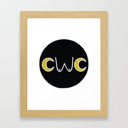 CWC New Moon Logo Framed Art Print