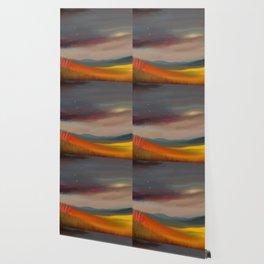 Birds on a Dark Sky 02 Wallpaper