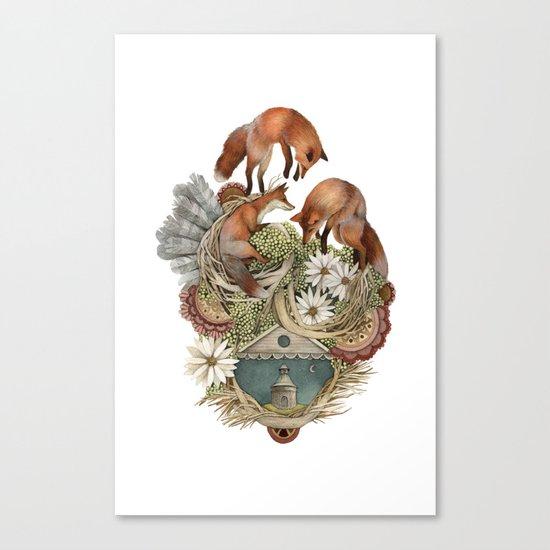 House of Fox // Polanshek Canvas Print