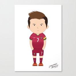 Cristiano Ronaldo - Portugal - World Cup 2014 Canvas Print