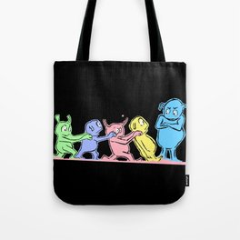 Funny martians - Kindergarden - LIFE CURRENT series... Tote Bag