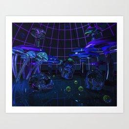 Fungal Fantasy Art Print