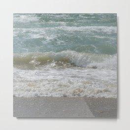 Loving the Waves number 5 Metal Print