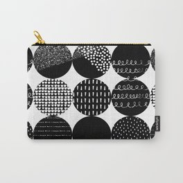 Swatch, Black and White Carry-All Pouch
