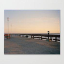 Pier Lookout Canvas Print
