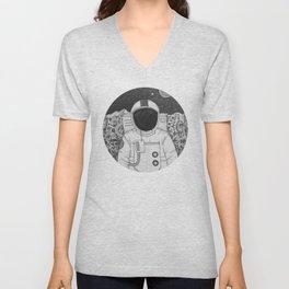 Spaceman Roy Unisex V-Neck