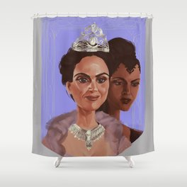 Good Queen/Evil Queen Shower Curtain