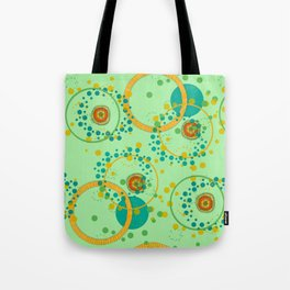 Concentric Green Tote Bag