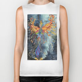 The Phoenix Rising From the Ashes Biker Tank